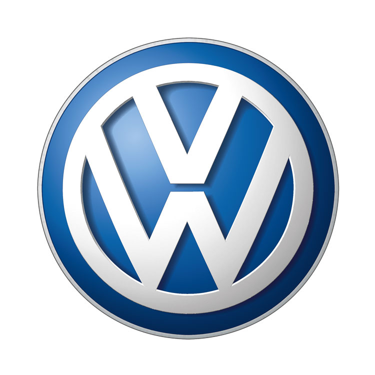 logo volkswagen car service market